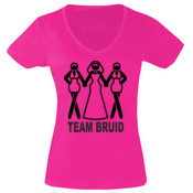 t shirt team bride